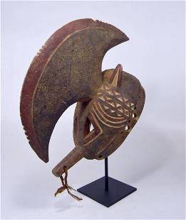 A Fine Mossi African Dance mask