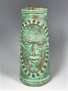 Bronze Nigerian Anklet Bracelet
