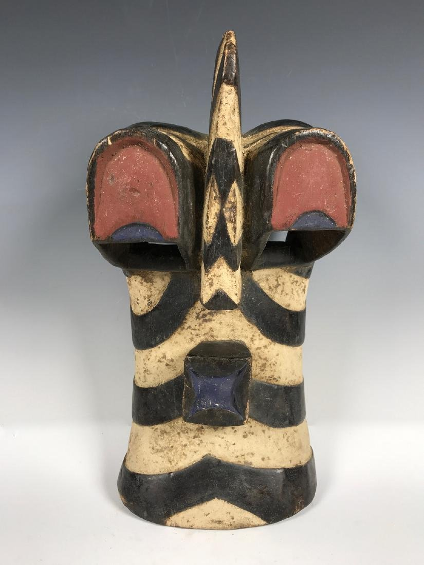 Songye Mask from Democratic Republic of Congo