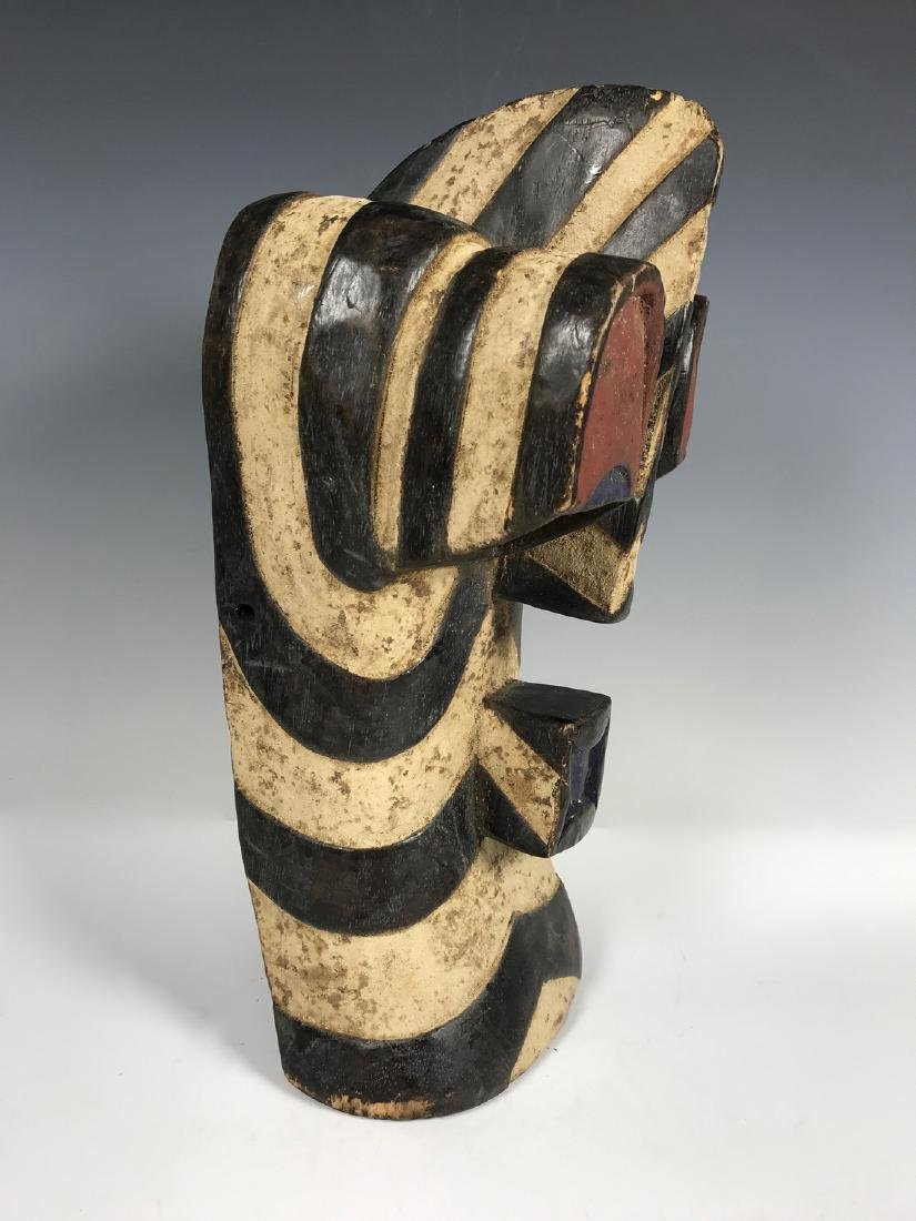 Songye Mask from Democratic Republic of Congo - 3