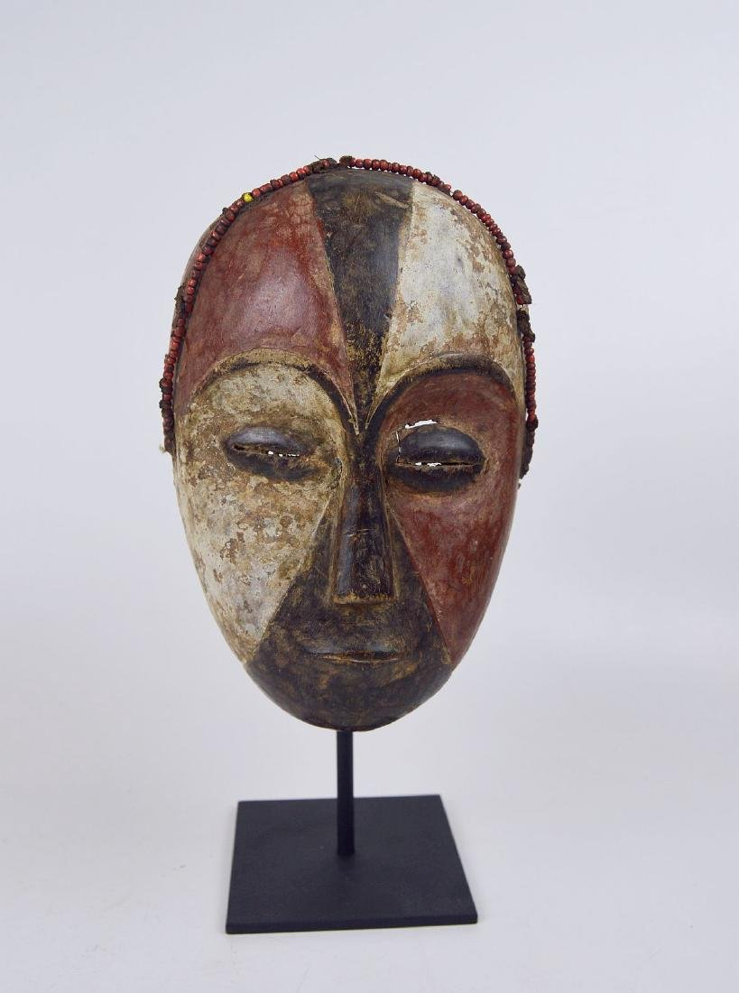 Old Galoa African mask, African Art - 8