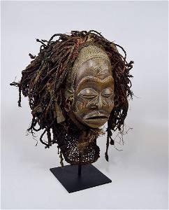 A Chokwe Pwo African mask