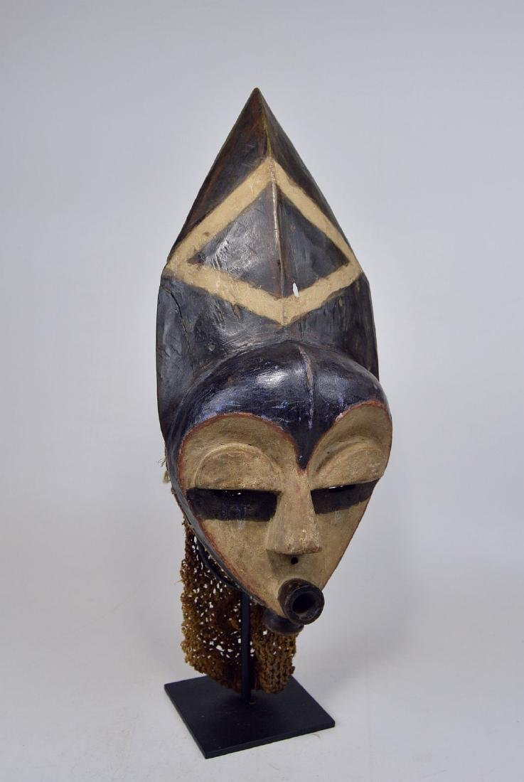 Highly Stylized African Mask from the Pende