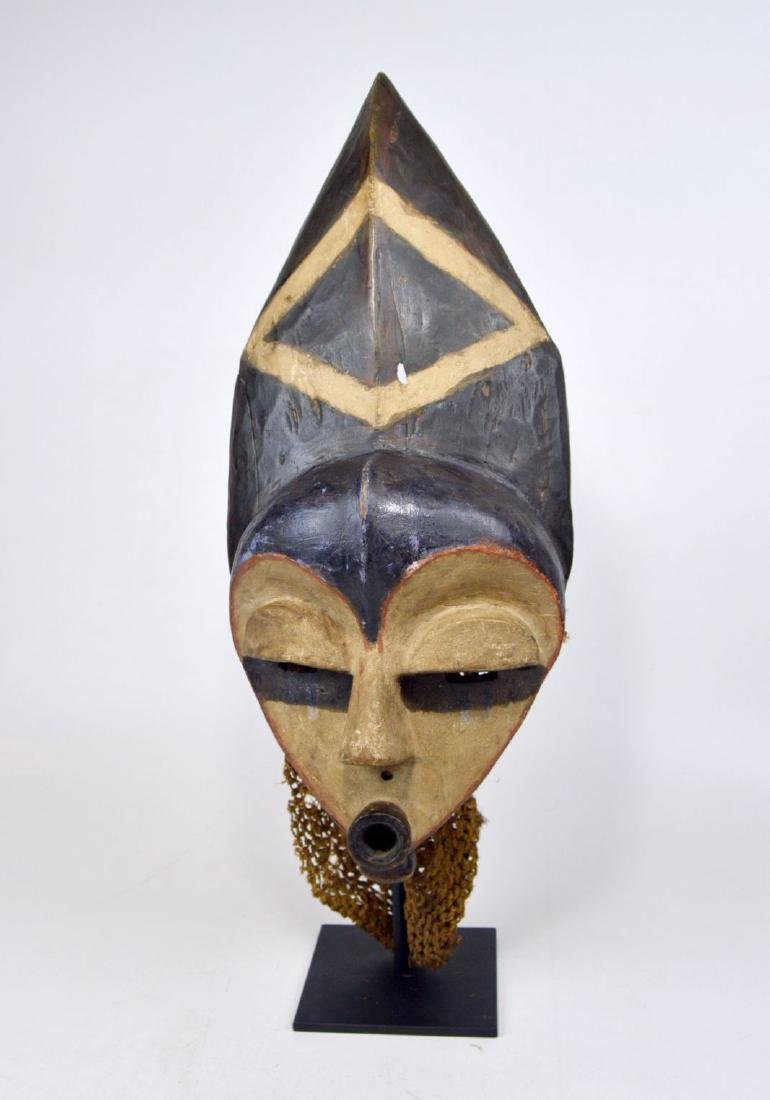 Highly Stylized African Mask from the Pende - 2