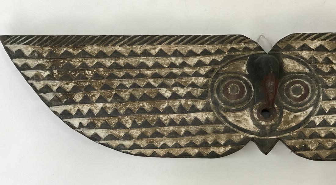 Large Bobo Bwa Hawk Plank Mask - 3