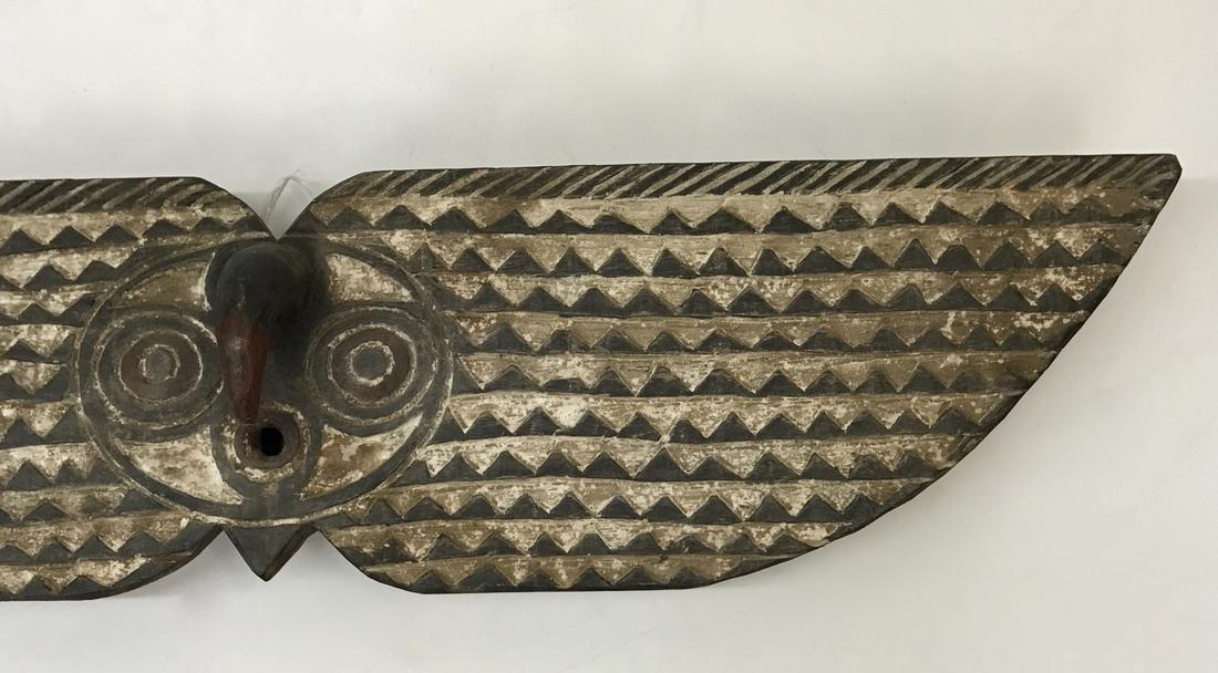 Large Bobo Bwa Hawk Plank Mask - 4
