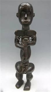 Standing Fang Statue from Gabon