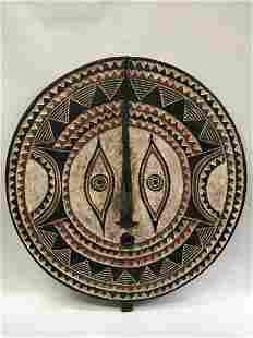 Large Plank Bwa Sun Mask from Burkina Faso