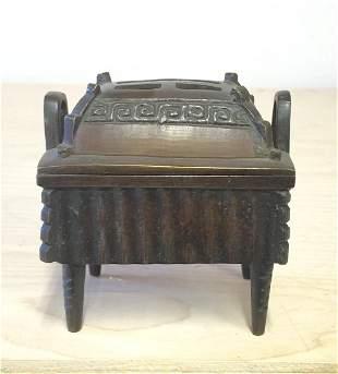 Japanese or Korean Bronze Censer