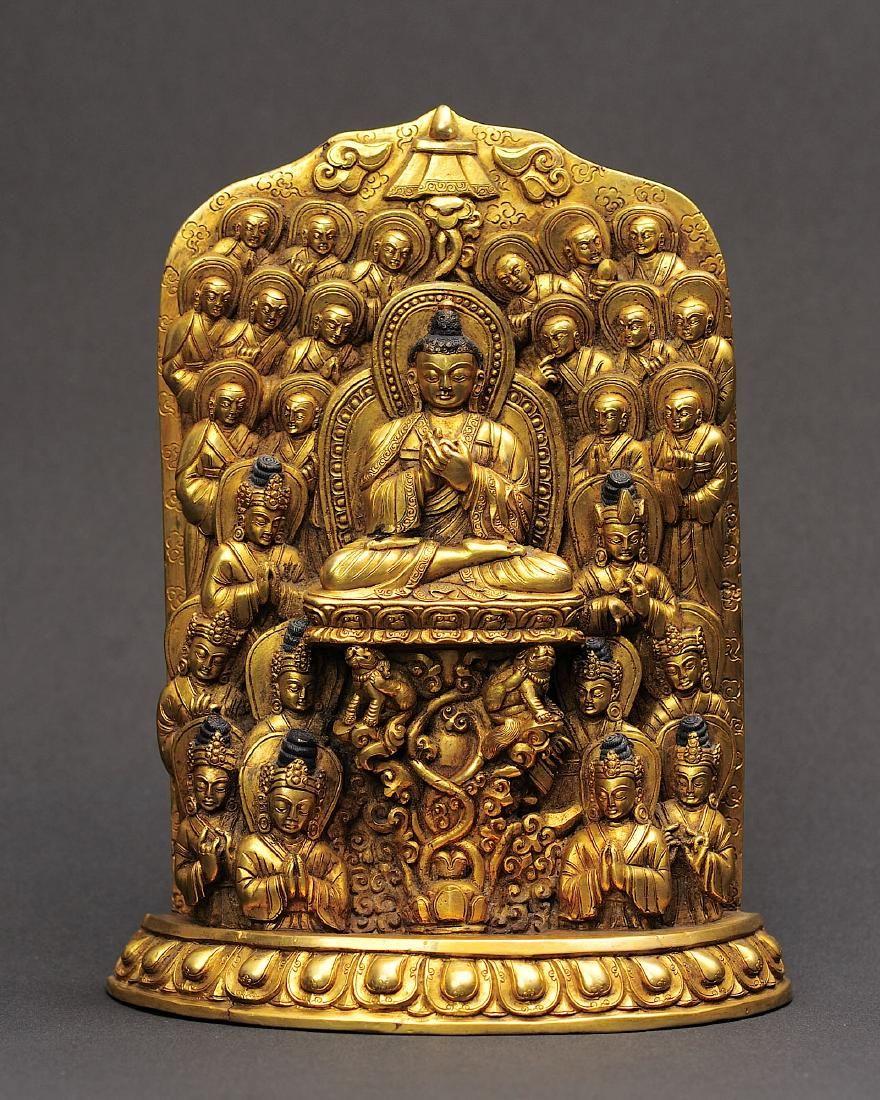 Nepalese Vairocana Buddha Statue