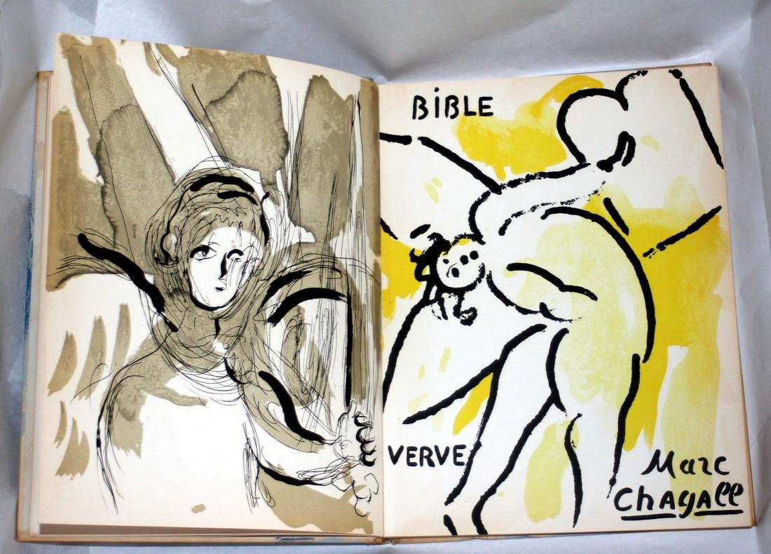 Chagall Illustrations For The Bible 1956, Verve - 4