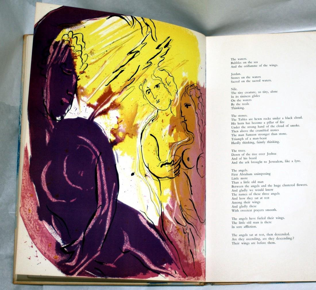 Chagall Illustrations For The Bible 1956, Verve - 6