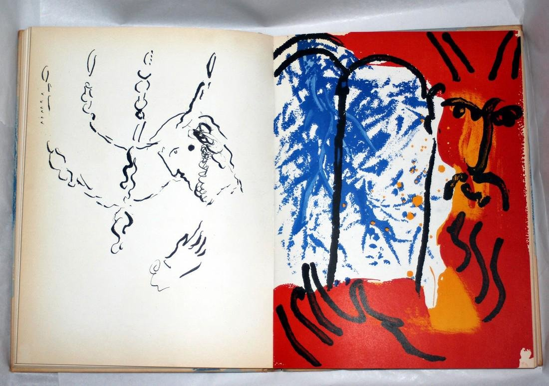 Chagall Illustrations For The Bible 1956, Verve - 7