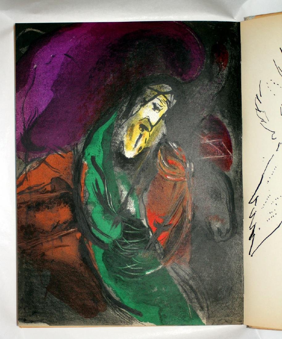 Chagall Illustrations For The Bible 1956, Verve - 9