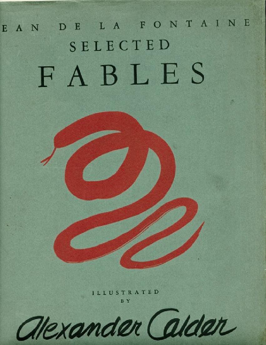 Selected Fables Calder, Alexander