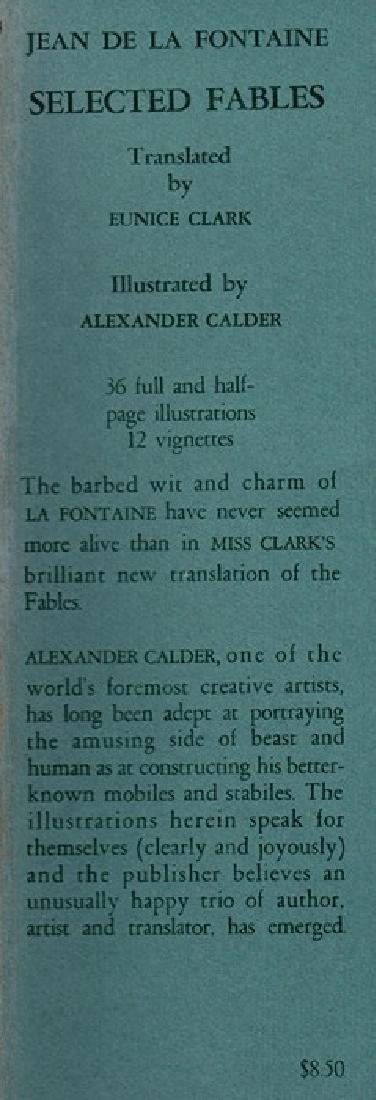 Selected Fables Calder, Alexander - 6