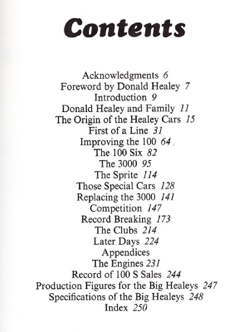 Austin Healey: The Story Of The Big Healeys - 6