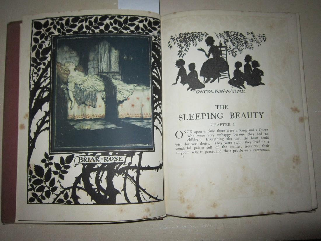 Arthur Rackham Sleeping Beauty 1st Trade Ed - 3