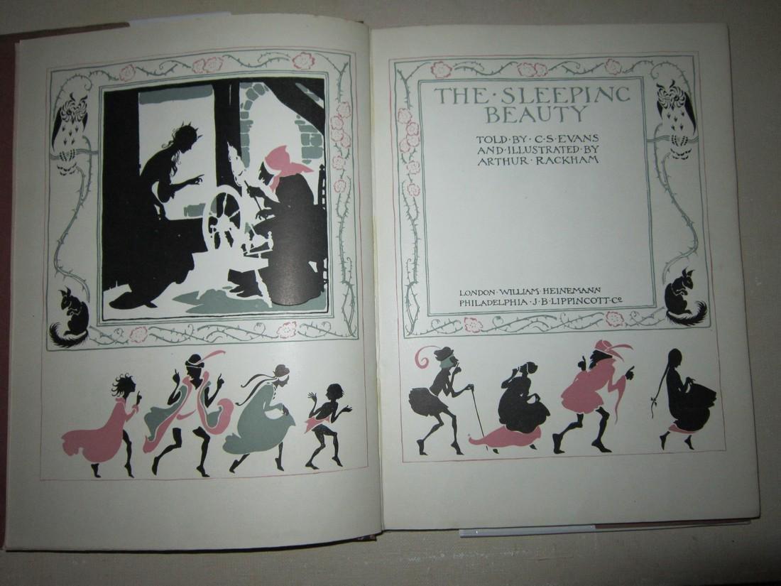 Arthur Rackham Sleeping Beauty 1st Trade Ed - 4