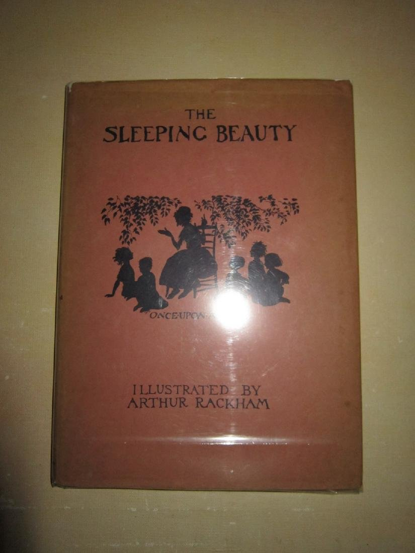 Arthur Rackham Sleeping Beauty 1st Trade Ed - 5