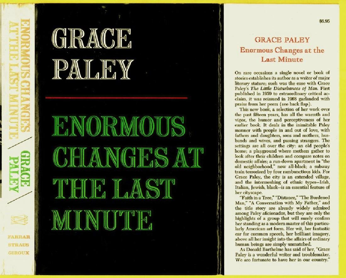 Enormous Changes At The Last Minute By  Paley, Grace