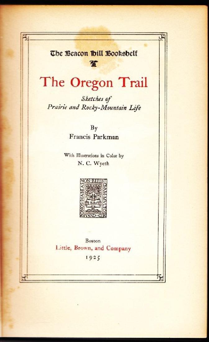 The Oregon Trail By Parkman, Francis - 5