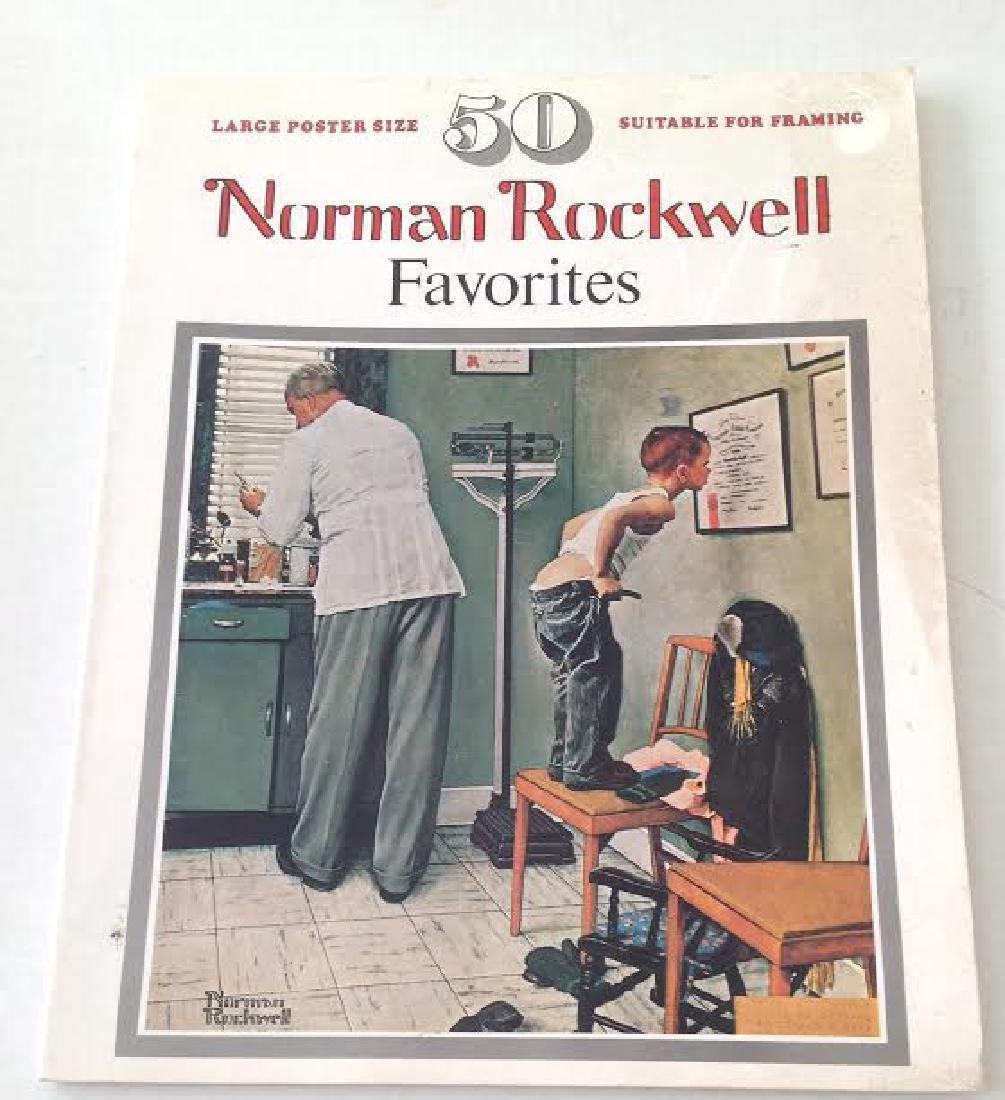 Norman Rockwell Favorites Larger Poster Size