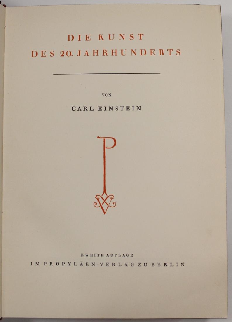 Die Kunst Des 20 Jahrhunderts By Carl Einstein - 3