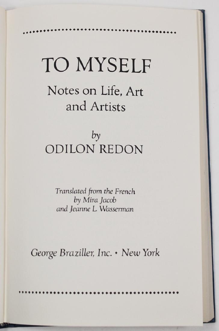 Notes On Life, Art & Artists By Odilon Redon - 3