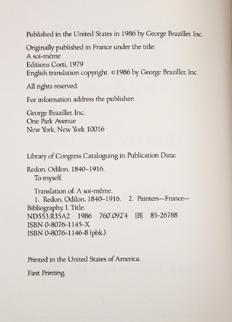 Notes On Life, Art & Artists By Odilon Redon - 5