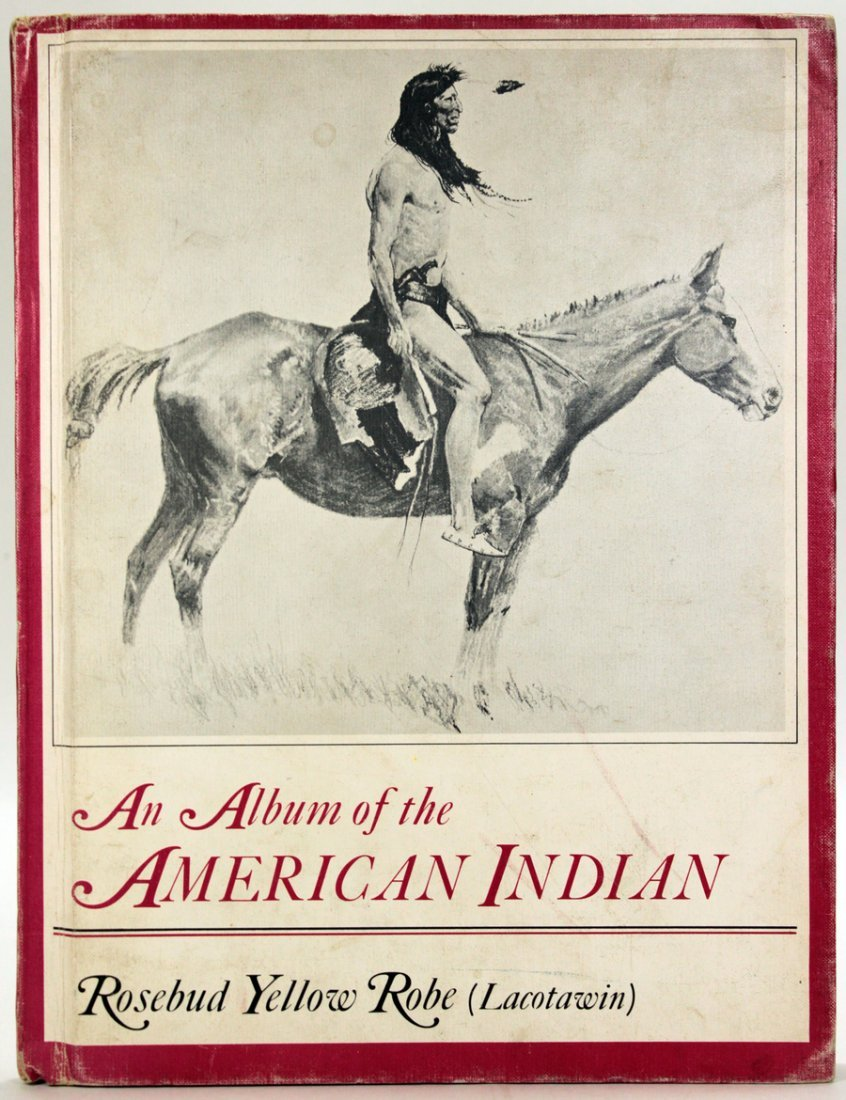 An Album Of The American Indian Signed