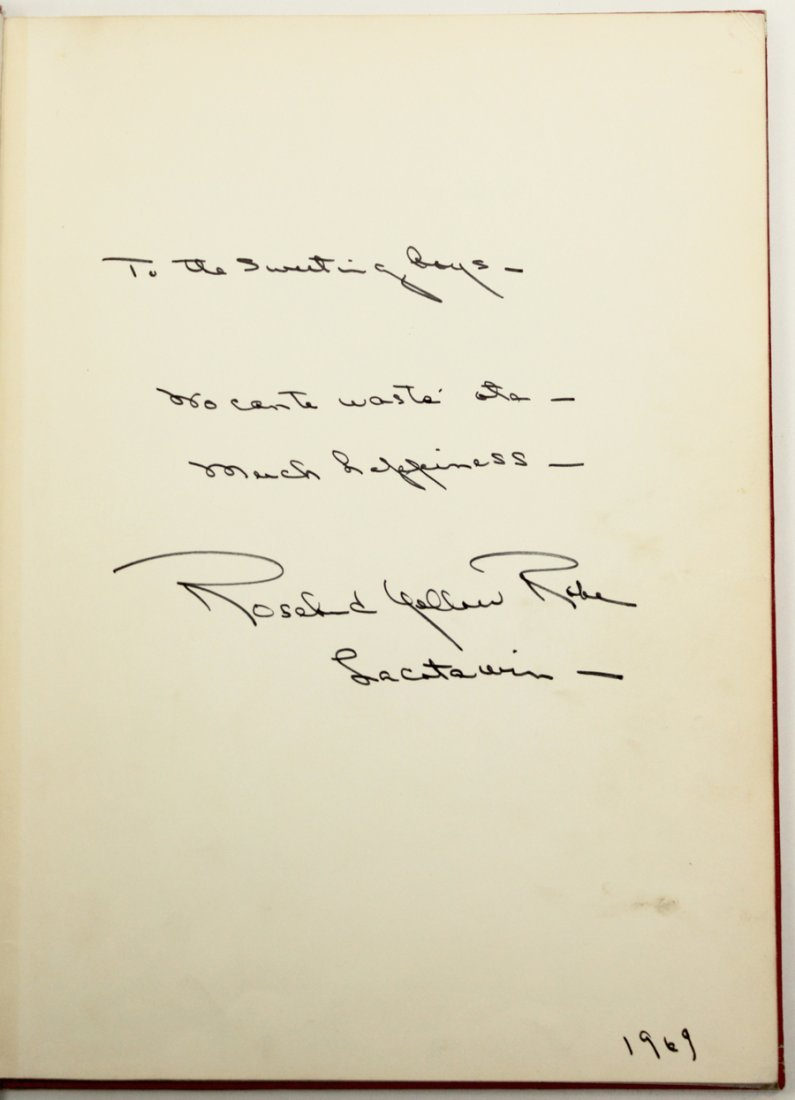 An Album Of The American Indian Signed - 2