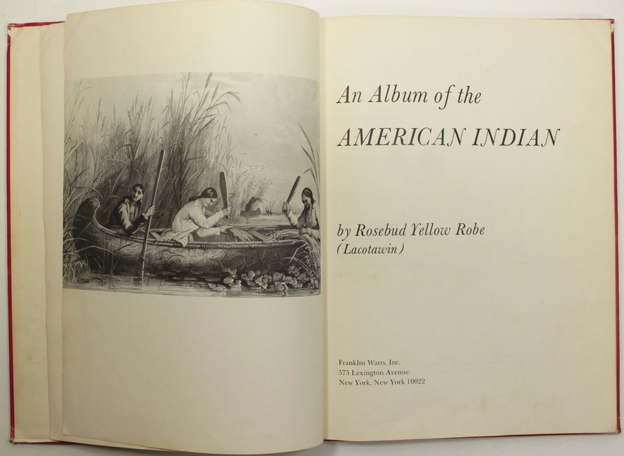 An Album Of The American Indian Signed - 3