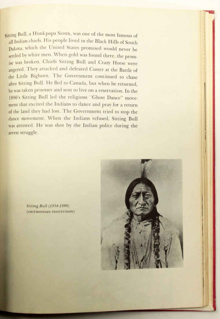 An Album Of The American Indian Signed - 5