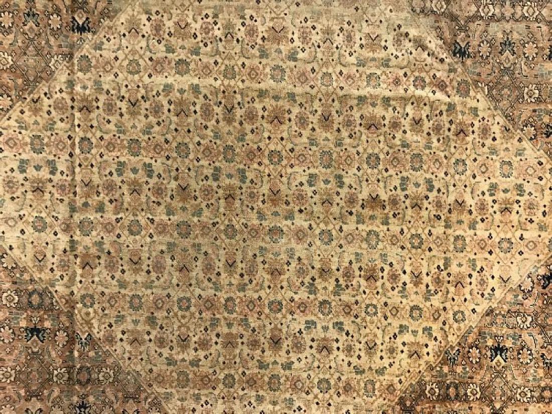 Antique Persian Hadji Jalil Tabriz Rug 9.0 x 11.9 - 3
