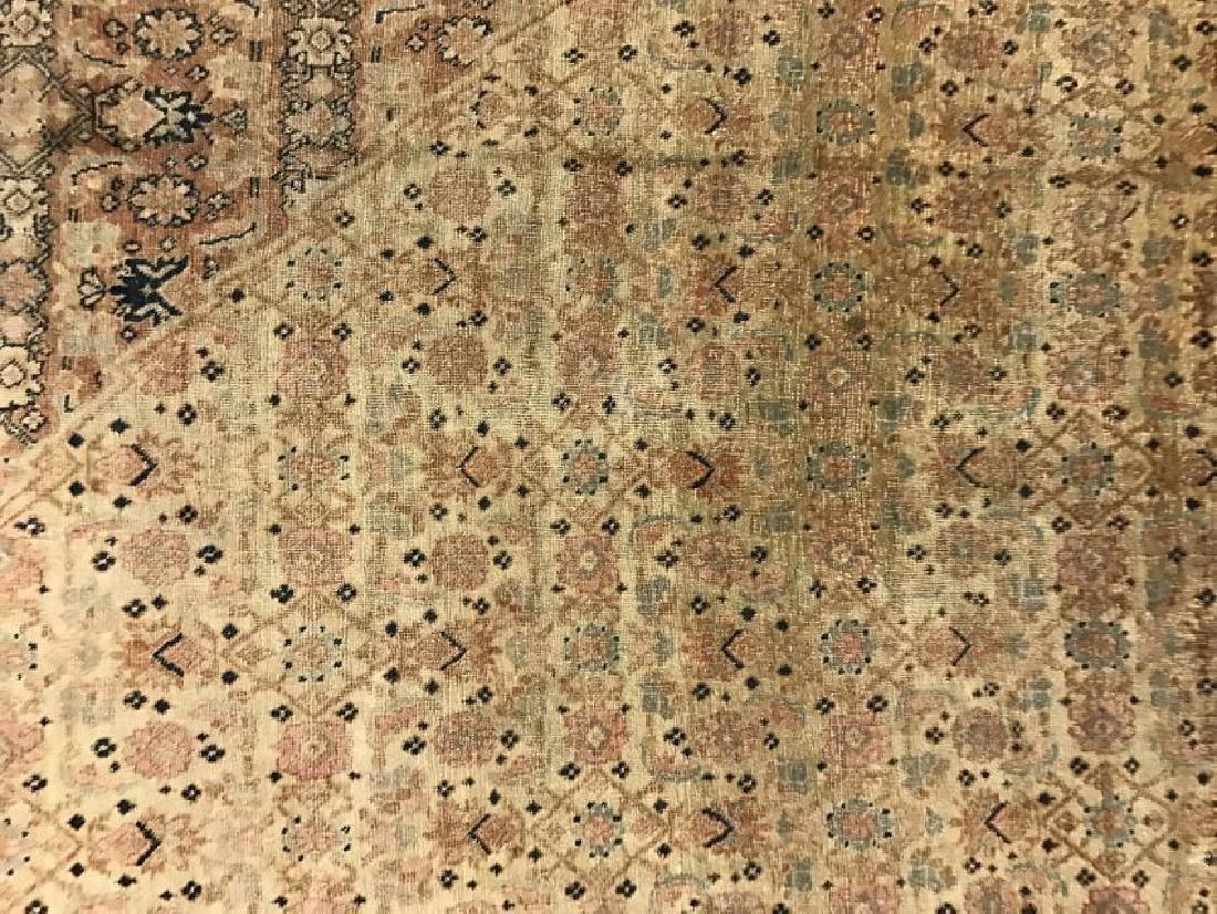 Antique Persian Hadji Jalil Tabriz Rug 9.0 x 11.9 - 4