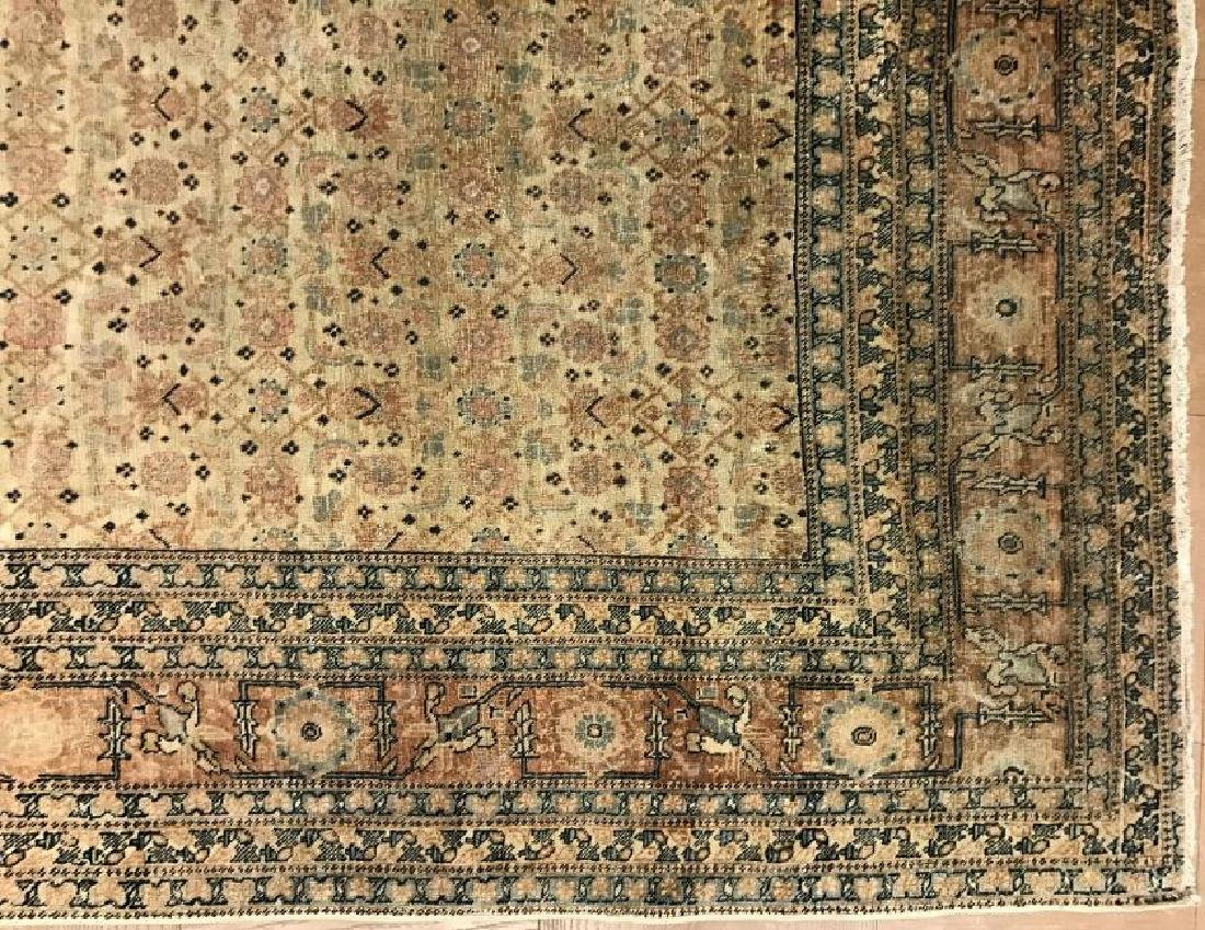 Antique Persian Hadji Jalil Tabriz Rug 9.0 x 11.9 - 5