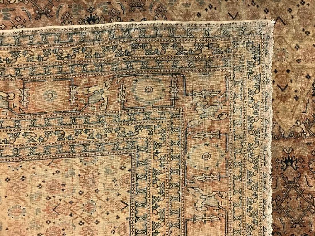Antique Persian Hadji Jalil Tabriz Rug 9.0 x 11.9 - 6