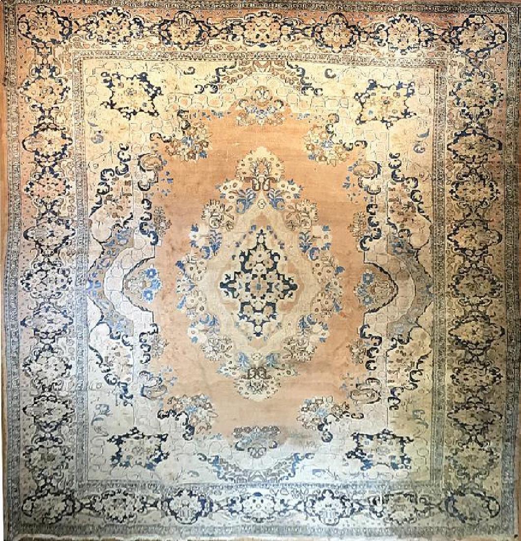 Antique Mahal Rug 11.1 x 14.10