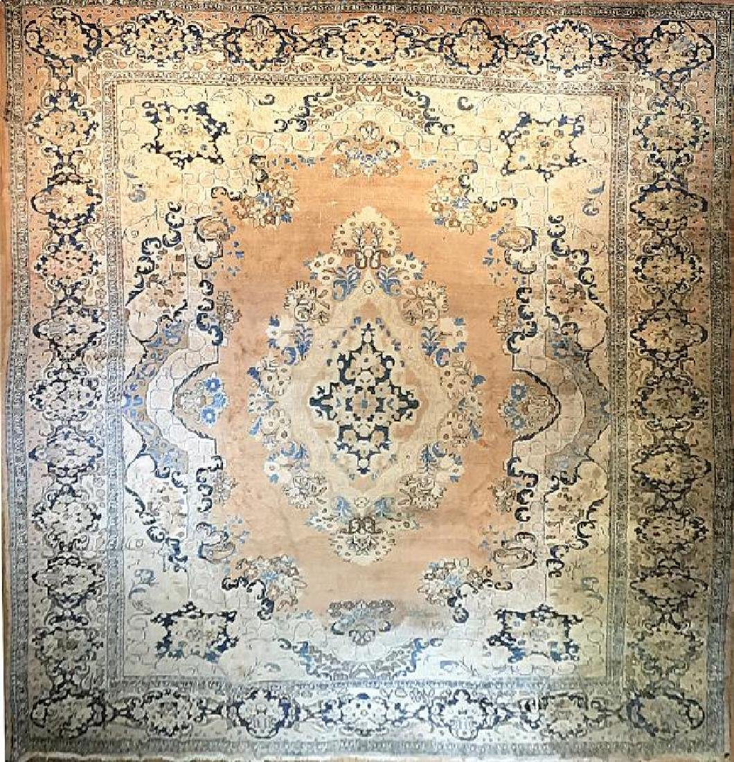 Antique Mahal Rug 11.1 x 14.10