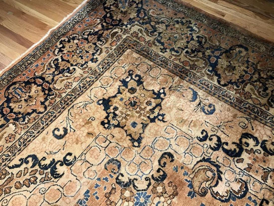 Antique Mahal Rug 11.1 x 14.10 - 2