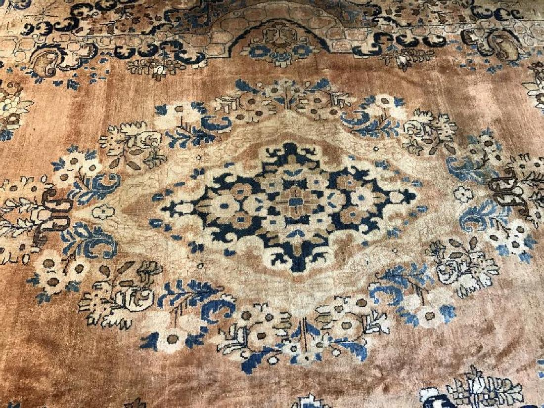 Antique Mahal Rug 11.1 x 14.10 - 4