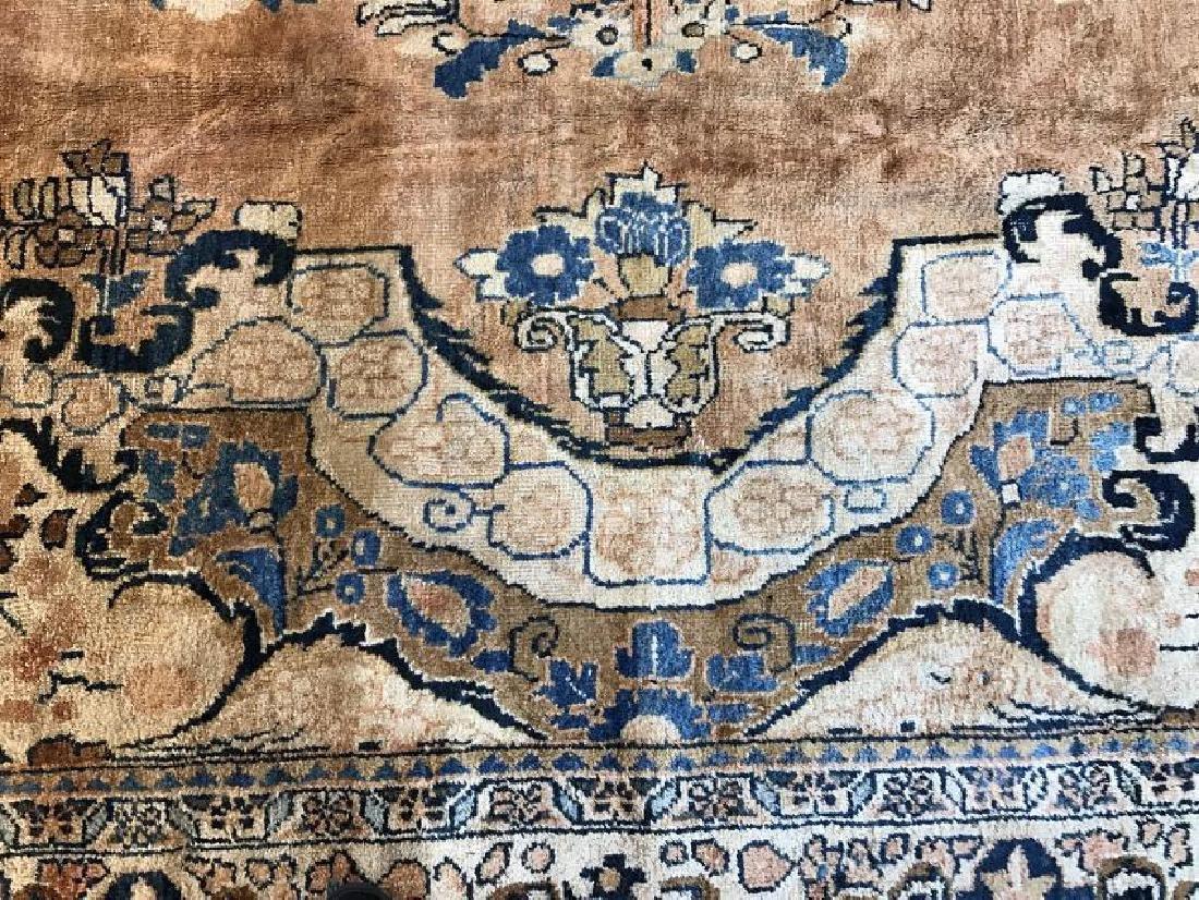 Antique Mahal Rug 11.1 x 14.10 - 5