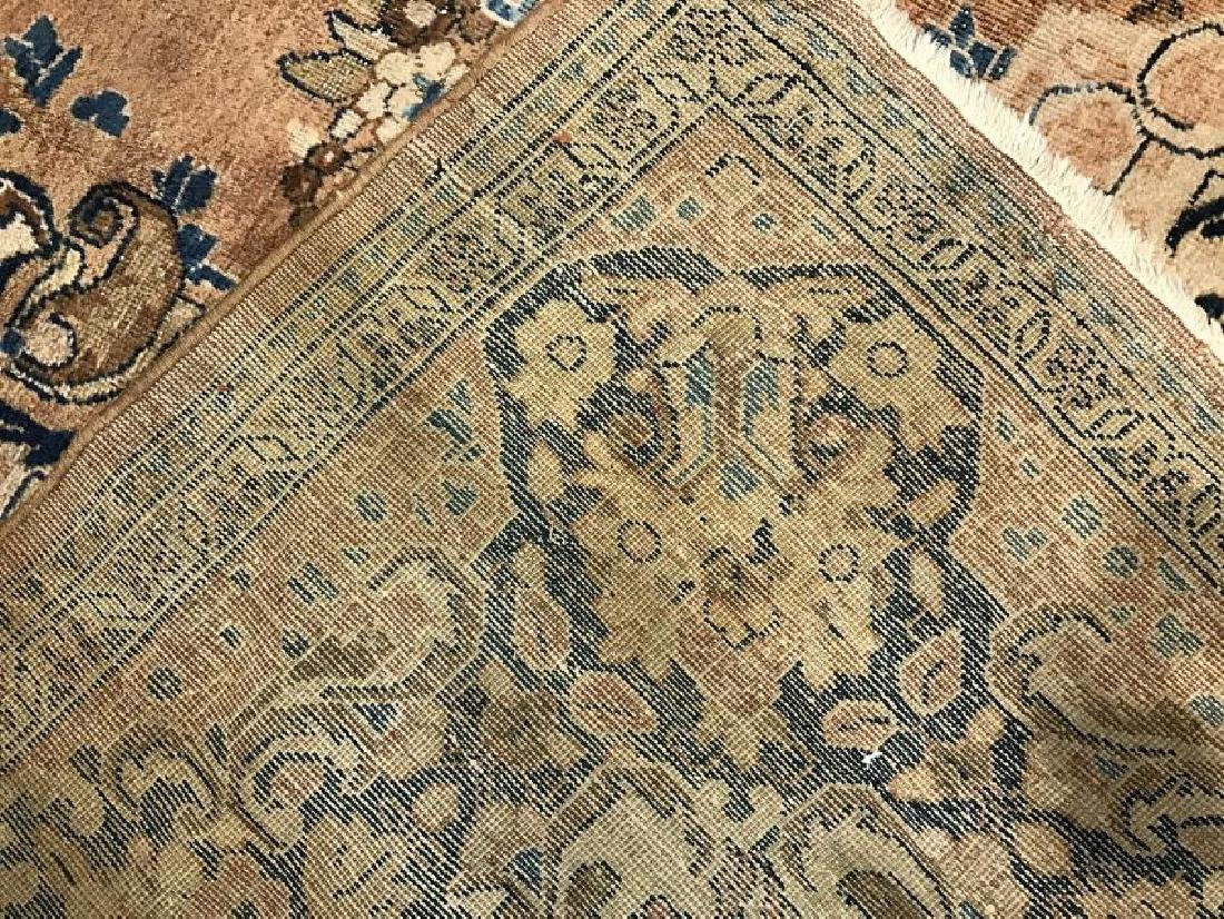 Antique Mahal Rug 11.1 x 14.10 - 7
