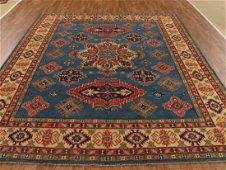 8 x 10 Handknotted Wool Kazak Rug