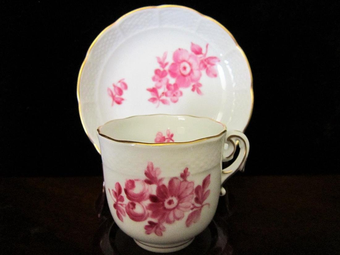 Dresden Germany Demitasse Cup & Saucer