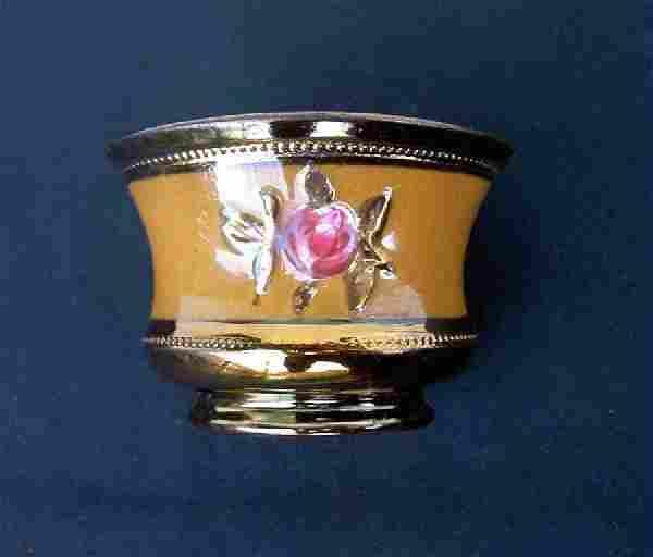 Victorian Copper Lusterware Bowl