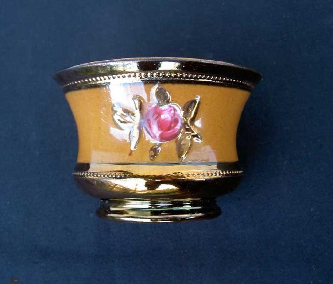 Victorian Copper Lusterware Bowl