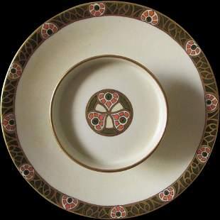 Art Nouveau, Arts & Crafts T & V Limoges Serving Tray