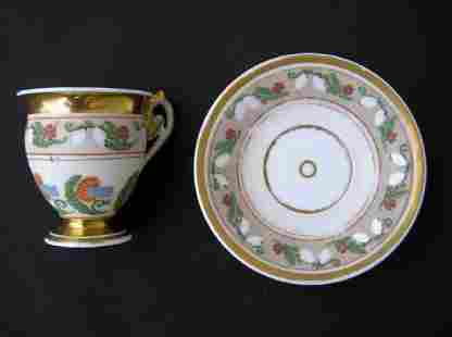 An Early 19th Century Cabinet Cup, Probably Russian